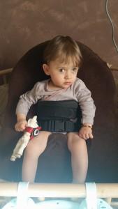 Kerwan dans son fauteuil ALBATROS.